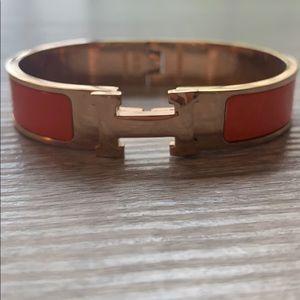 Accessories - H - Inspired Orange Bracelet